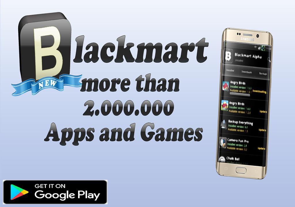 Black Market Alpha app store tips for Android - APK Download