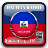 Haitian Radio Station 104.5 Fm Music App 104.5 HD icon