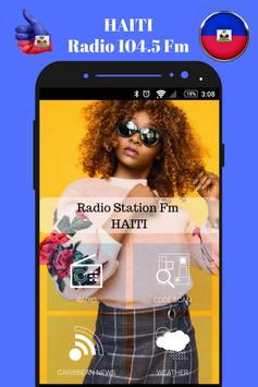 Haitian Radio Station 104.5 Fm Music App 104.5 HD poster