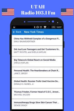 Utah Radio Station 103.1 Fm HD Music 103.1 Online screenshot 6