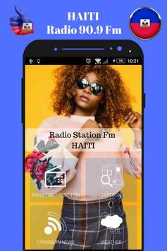 Haitian Radio Station 90.9 Fm Music App 90.9 HD screenshot 2