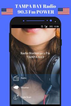 90.1 Fm Radio Tampa Bay Radio Station Live 90.1 hd poster