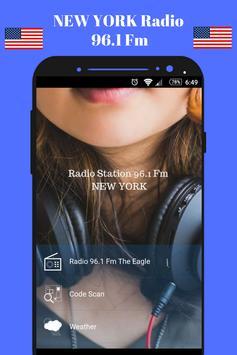 96.1 Fm Radio New York Radio Station 96.1 online poster