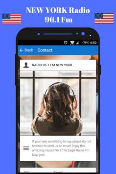 96.1 Fm Radio New York Radio Station 96.1 online screenshot 2