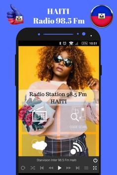 Haitian Radio Station 98.5 Fm Music App 98.5 Live screenshot 1