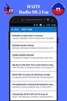 Haitian Radio Station 98.5 Fm Music App 98.5 Live screenshot 6