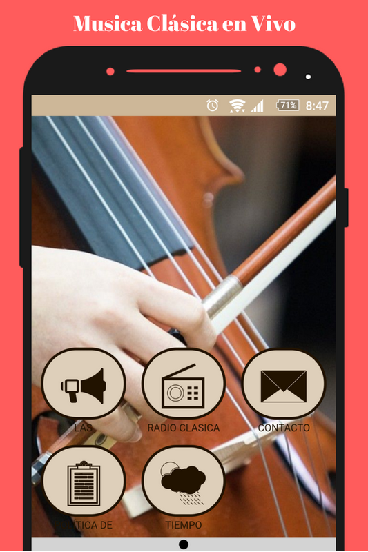 Radio Classical Music Live FM online for free for Android