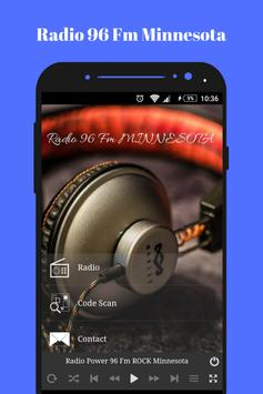 Radio Fm Minessota 96 online Rock music app USA screenshot 3