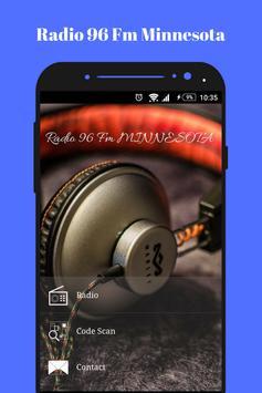 Radio Fm Minessota 96 online Rock music app USA poster