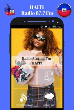 Haitian Radio Station 87.7 Fm Music App 87.7 HD screenshot 5