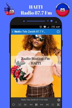 Haitian Radio Station 87.7 Fm Music App 87.7 HD screenshot 3