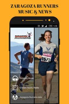 Zaragoza Runners & Running Gym Music App Radio Fm poster