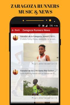 Zaragoza Runners & Running Gym Music App Radio Fm screenshot 7