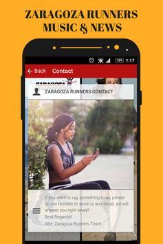 Zaragoza Runners & Running Gym Music App Radio Fm screenshot 5