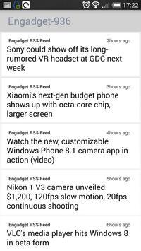 RSS Reader screenshot 2