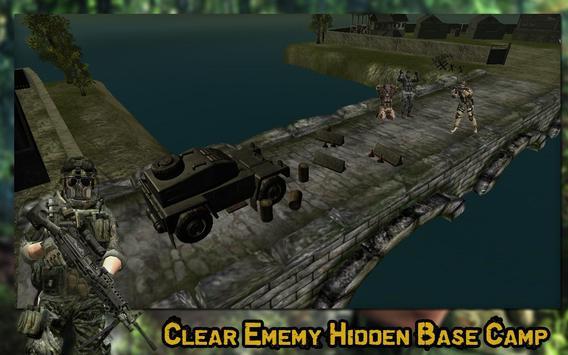 US Commando Combat Mission apk screenshot