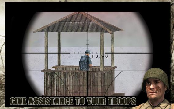 Duty calls Sniper Soldier WW2 screenshot 8