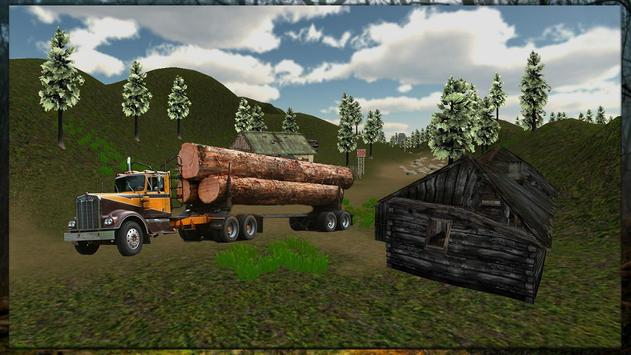 Jungle Wood Cargo apk screenshot