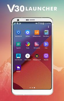 V30 Launcher - Style like LG 2018 apk screenshot