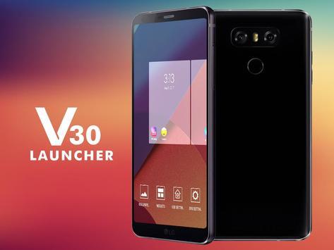 V30 Launcher - Style like LG 2018 poster