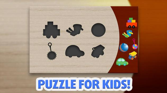 Kids Puzzle - Wood Toys Sorter poster