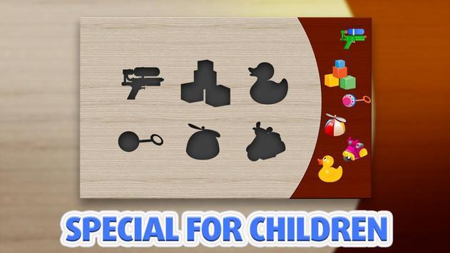Kids Puzzle - Wood Toys Sorter screenshot 5