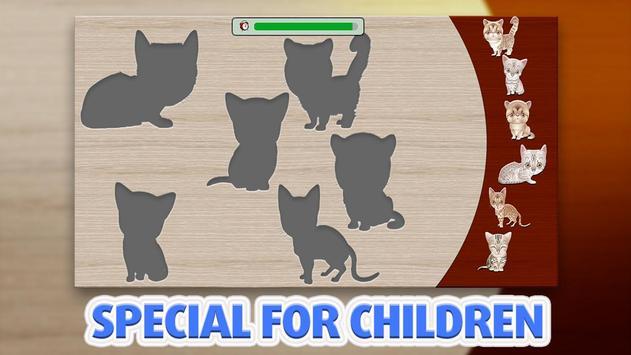 Kids Puzzle - Cats screenshot 1