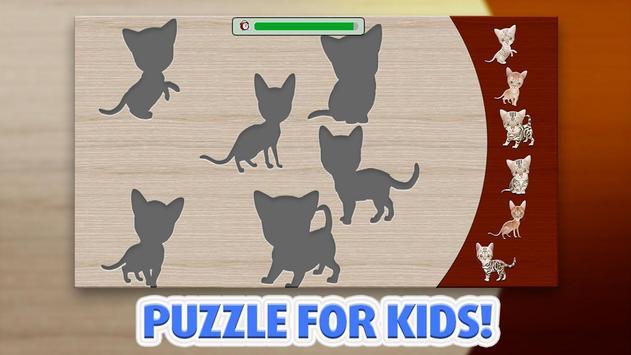 Kids Puzzle - Cats screenshot 2
