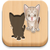 Puzzle for kids - Cats icon