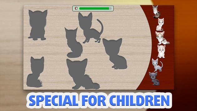 Puzzle for kids - Cats screenshot 1