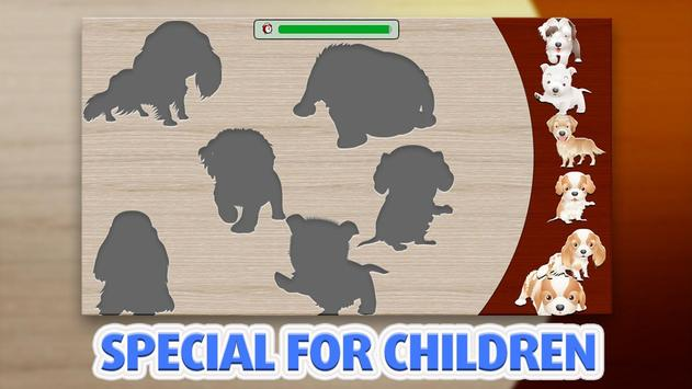 Kids Puzzle - Dogs screenshot 1