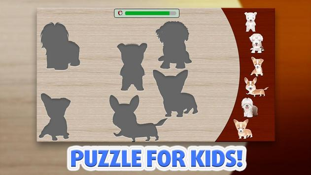 Kids Puzzle - Dogs screenshot 2