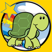 funny turtles for kids icon