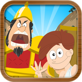 David & Goliath Bible Story icon