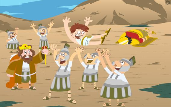 David & Goliath Bible Story apk screenshot