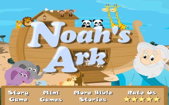Noah's Ark Bible Story poster