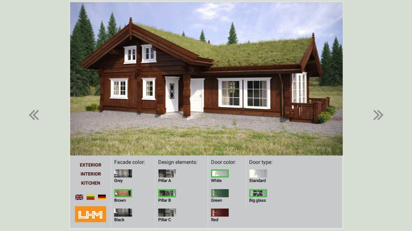 Lhm house kitchen configurator apk baixar gr tis estilo for House configurator