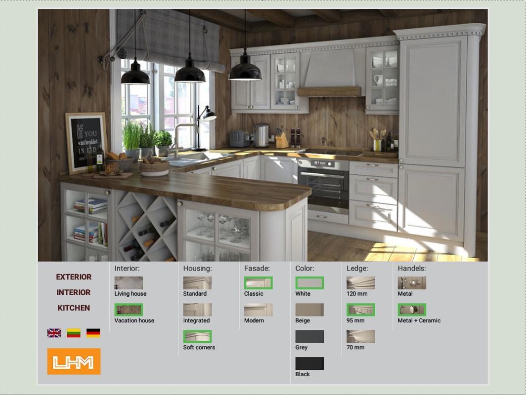 Lhm House Kitchen Configurator Apk Baixar Gr Tis Estilo De Vida Aplicativo Para Android