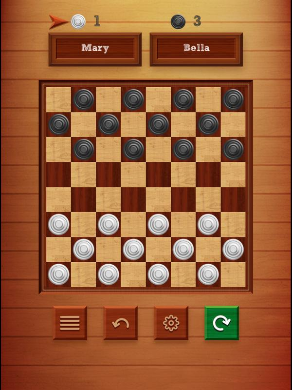 how to play checkers online with a friend