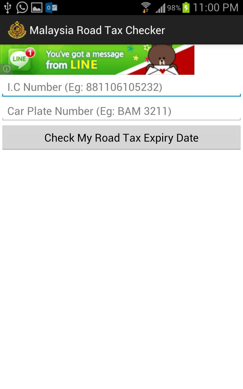 Malaysia Road Tax Checker For Android Apk Download