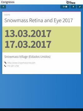 Congresos Oftalmología 2017-18 screenshot 11