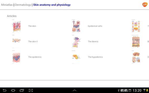 Dermatology Miniatlas screenshot 7