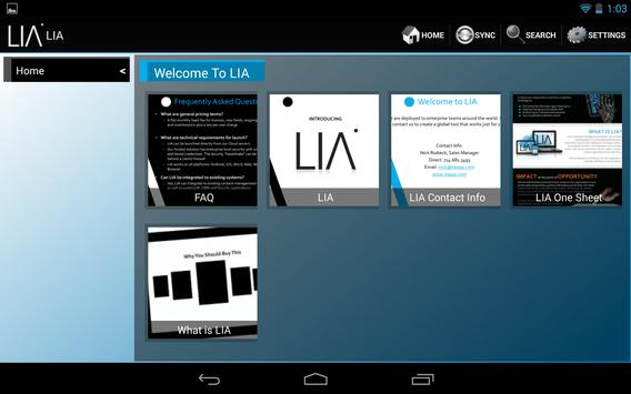 LIA apk screenshot