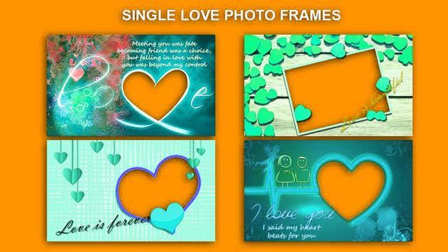 Romantic Love Photo Frames HD 2018 screenshot 1