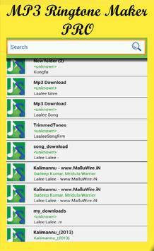 MP3 Ringtone Maker apk screenshot