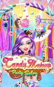 Candy Makeup Party Salon screenshot 5