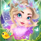 Fairy Princess Fashion Design ícone
