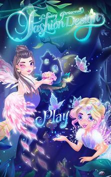 La moda de la princesa hada Poster