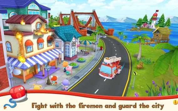 Pet Heroes: Fireman poster