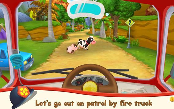 Pet Heroes: Fireman screenshot 1